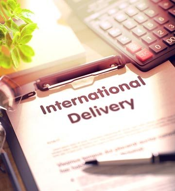 Worldwide delivery