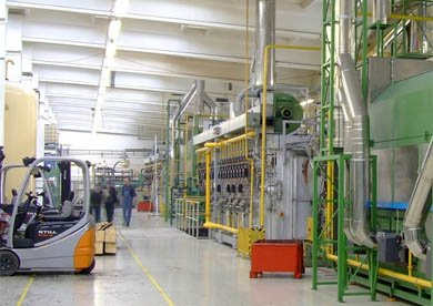 Relocation of production lines